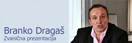 Branko Dragaš, Zvanična prezentacija